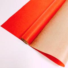 Крафт-бумага вержированная однотонная Красная, 72 см * 10 м