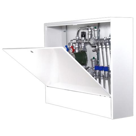 Шкаф распределительный наружный STOUT - 651x1000x180 мм (с внутренней дверцей)