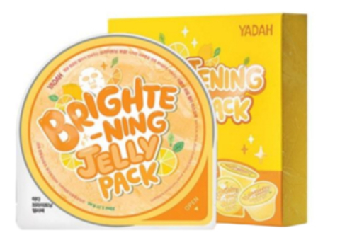 YADAH BRIGHTENING JELLY PACK Маска для сияния кожи, 33 мл, YADAH