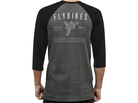 Футболка FlyBikes Chain Raglan 3/4