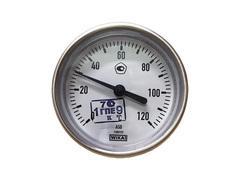 Термометр биметаллический 0-120 WIKA