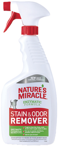 8in1 уничтожитель пятен и запахов от собак NM универсальный, спрей 710 мл