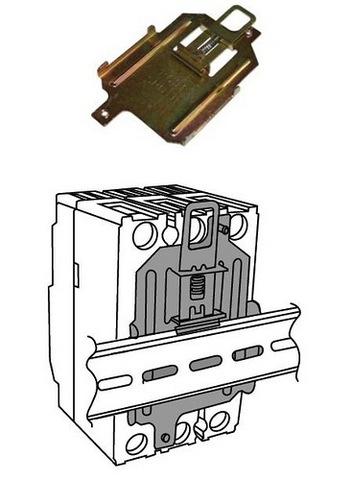 Скоба RCS1 на DIN-рейку для ВА88-32 TDM
