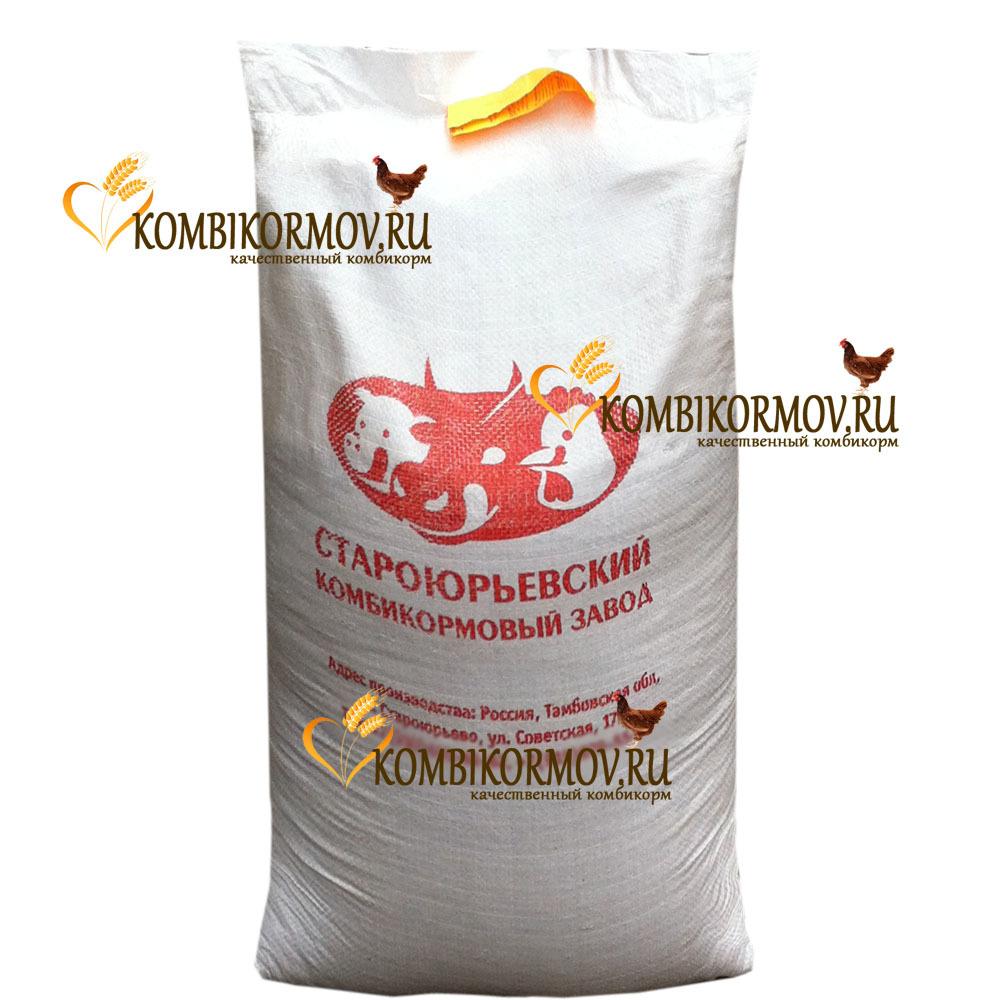 Комбикорм полнорационный ПК-1 для кур-несушек (Староюрьевский)