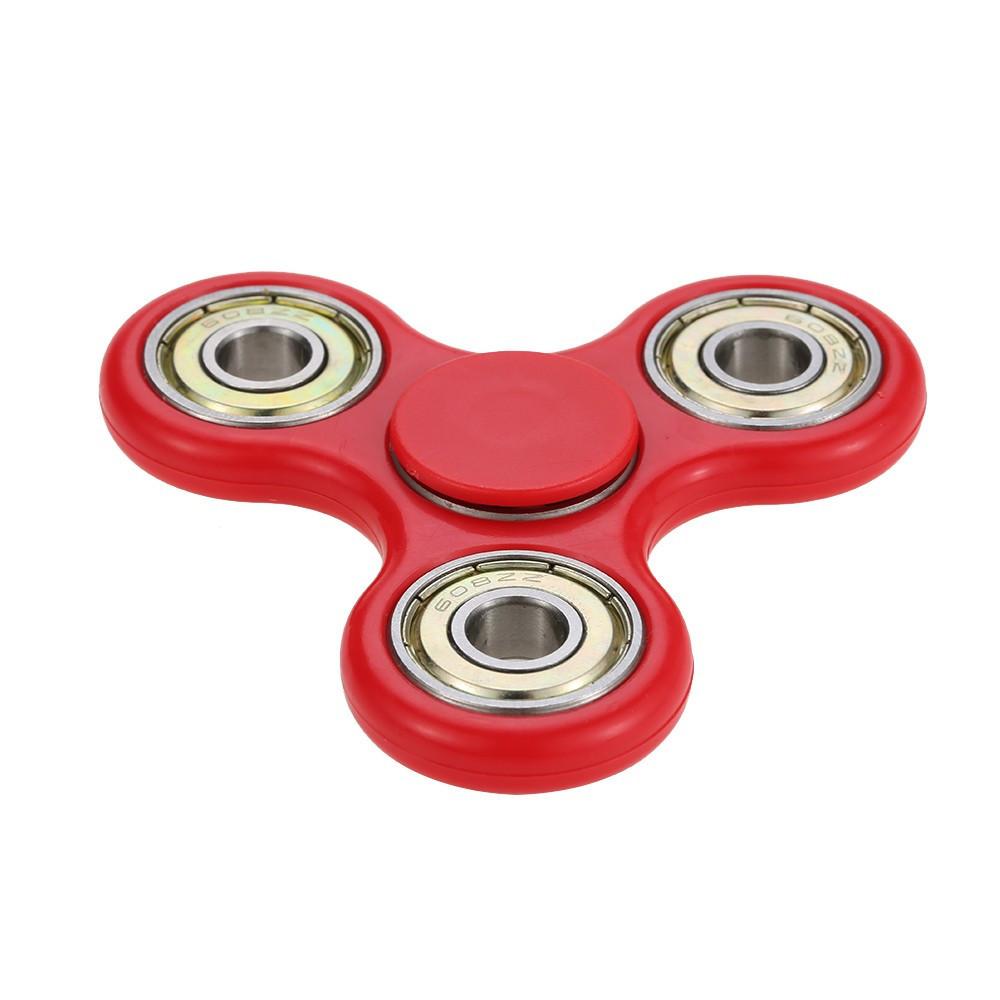В наличии! Игрушка-антистресс спиннер FIDGET SPINNER красный