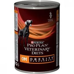Консервы для собак, Pro Plan Veterinary Diets CANINE OM Mousse, при ожирении