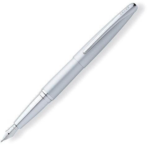 Cross ATX - Matte Chrome, перьевая ручка, F, BL