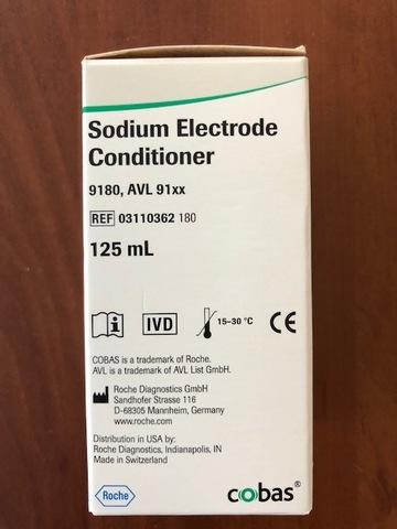 03110362180 Кондиционер натриевого электрода, 125 мл (Sodium Electrode Conditioner) Roche Diagnostics GmbH