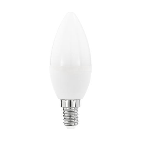 """Лампа  Eglo LED LM-LED-E14 5,5W 470Lm 3000K C37 """"Свеча"""" 11643"""