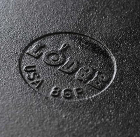 Сковорода чугунная круглая  с двумя ручками, артикул L17SK3