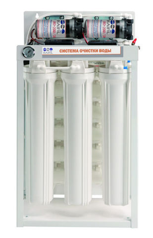 Водоочиститель RO 288 BW - 220EZ (две мембаны 75G, насос ПД, 24л/ч или 600л/сут), R