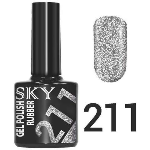 Sky Гель-лак трёхфазный тон №211 10мл