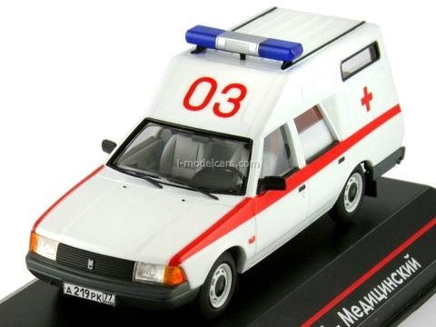 Moskvich-2901 Medical 1:43 ICV096