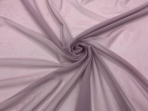 Сетка эластичная лавандово-серая
