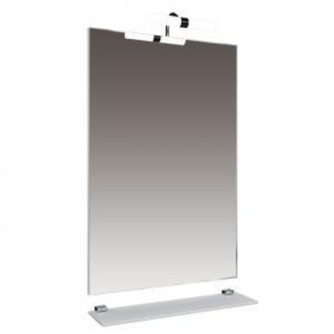Зеркало Triton Диана-50 с подсветкой и со стеклян. полочкой