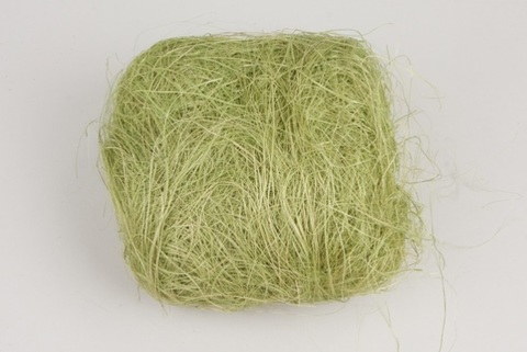 Волокно сизаля 100г (Цвет: светло-зелёное)