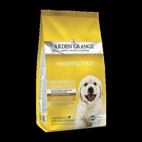 Arden Grange Weaning&Puppy Сухой корм для щенков Курица