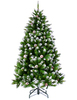 Ёлка Triumph Tree Императрица заснеженная с шишками 185 см
