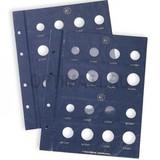 Дополнительный лист в альбом VISTA для 2-х курсовых наборов Euro, на 16 ячеек