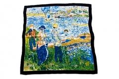 Итальянский платок из шелка картина 1201