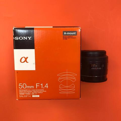 Sony 50mm f/1.4 (SAL-50F14) с коробкой  комиссия