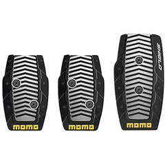 Накладки на педали MOMO Shield Black