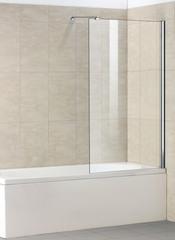 Стеклянная шторка на ванну Welt-Wasser WW 100G1 80