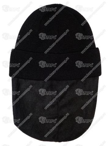 Шапка с флисовой подкладкой Чёрная