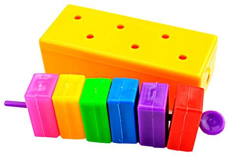Побег цветных блоков