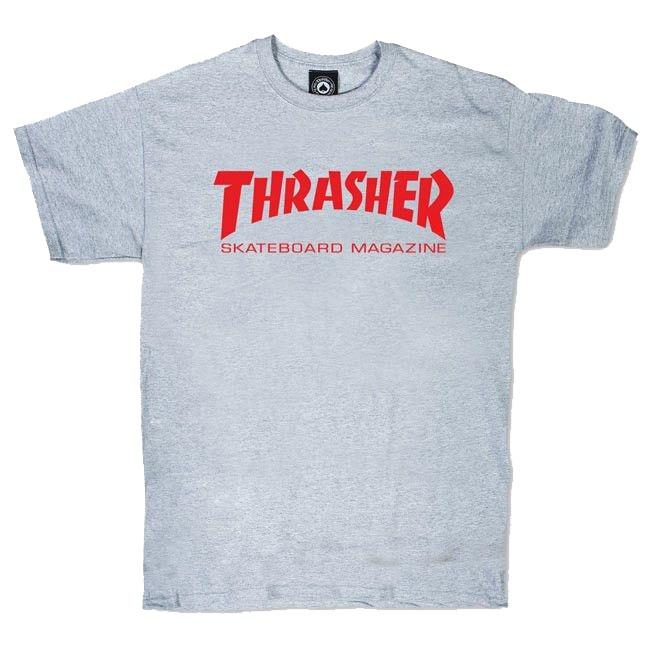 Футболка THRASHER Skate Mag Grey
