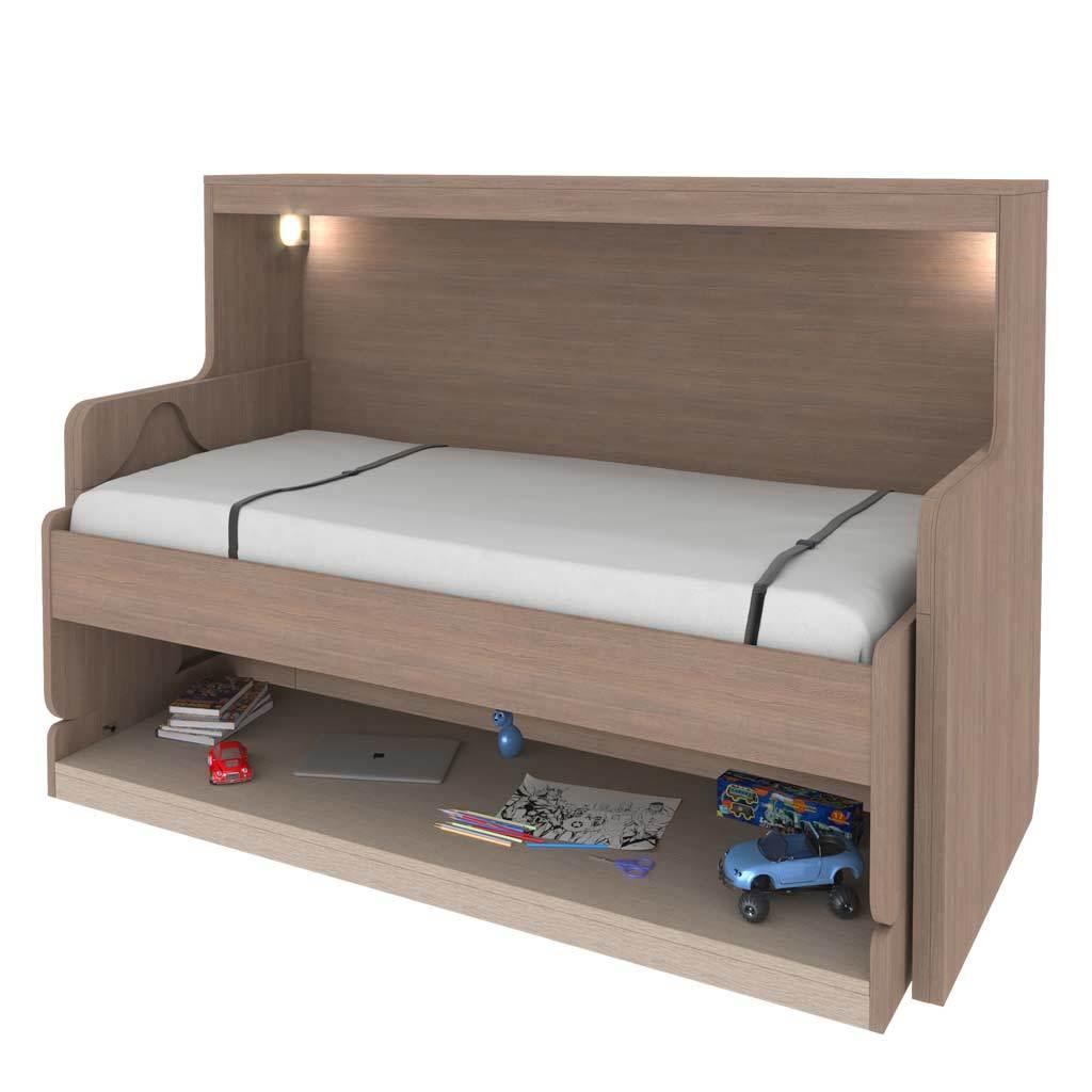 Стол-кровать трансформер односпальная 90 см