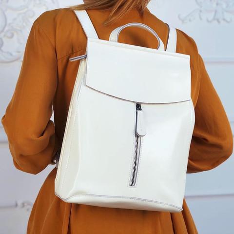 Рюкзак женский JMD Zip 2017 Белый