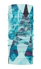 Бандана-труба тонкая зимняя Buff Thermonet Mist Aqua