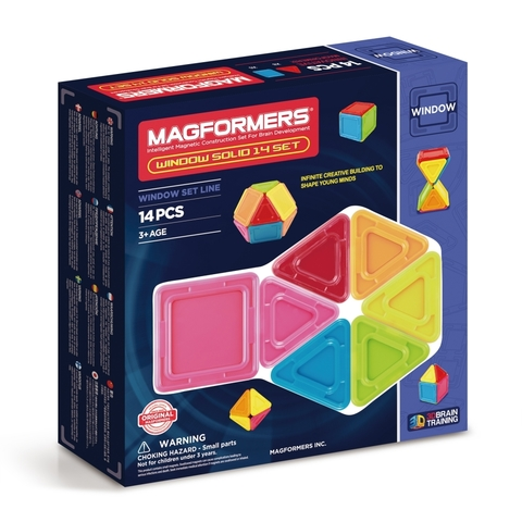 MAGFORMERS Window Solid 14 set 714005