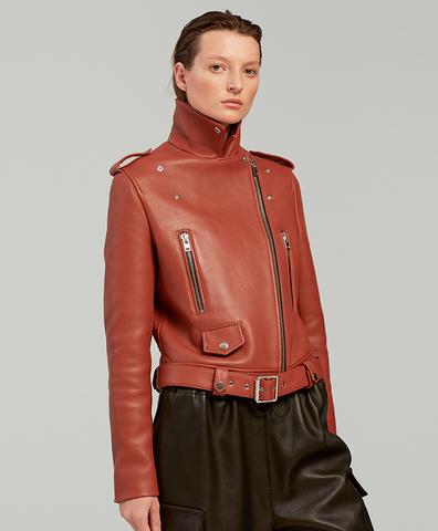 Кожаная куртка STONE MOTO JACKET