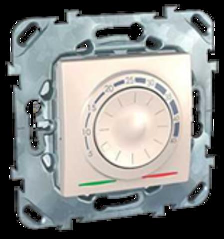Терморегулятор теплого пола. Цвет Бежевый. Schneider electric Unica. MGU5.503.25ZD