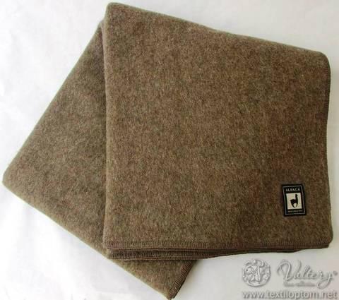 Одеяло шерстяное INCALPACA коричневый