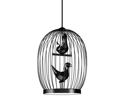 Подвесной светильник копия Twee T. 2 by Casamania & Horm (черный)