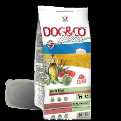 Adragna Dog&Co Wellness Adult Mini Lamb&Rice (2.5 кг)