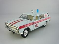 GAZ-2402 Volga Ambulance 1:43 Agat Mossar Tantal