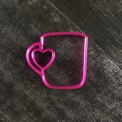 Чашка №2 с сердцем