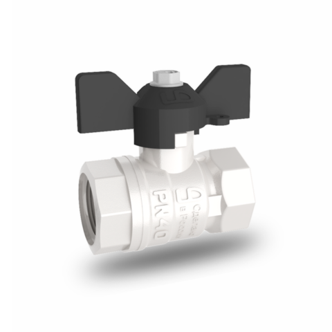 Кран шаровый латунный для воды LD Pride (11б27п1) ду25 (1