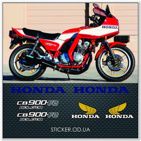 Набор наклеек  Honda CB 900 F2 Bol d'or , 1981