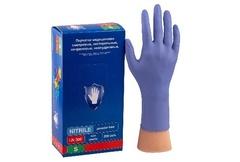 Перчатки Safe&Care Фиолетовые LN 308 (200 шт.)размер L
