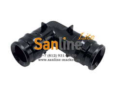Штуцер 16x16мм Sanline Lite угловой 90гр (PPSU)