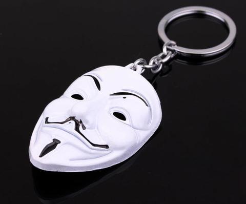брелок маска вендетта/V for Vendetta