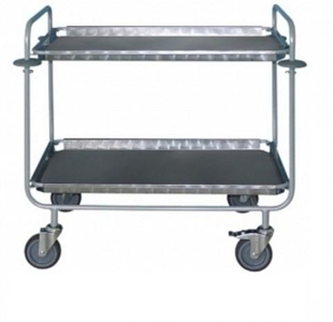 Тележка для доставки в палату пищи и сбора грязной посуды ТПП-1 - фото