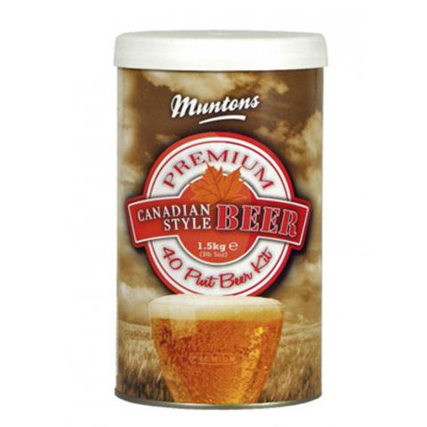 Солодовый экстракт Muntons Canadian Style Beer 1,5 кг