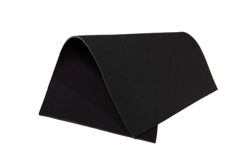Бельевой поролон черный 3 мм