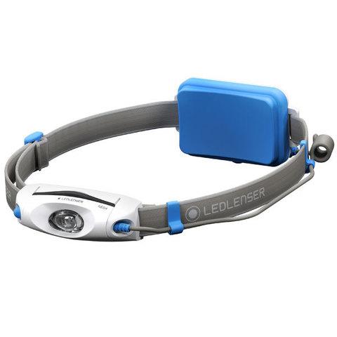 Фонарь светодиодный налобный LED Lenser NEO4 синий, 240 лм., 3-ААА
